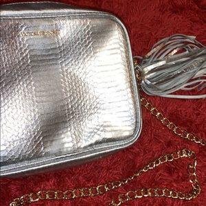 Victoria Secret silver bag